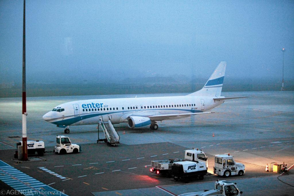 Samolot Enter Air (zdjęcie ilustracyjne)
