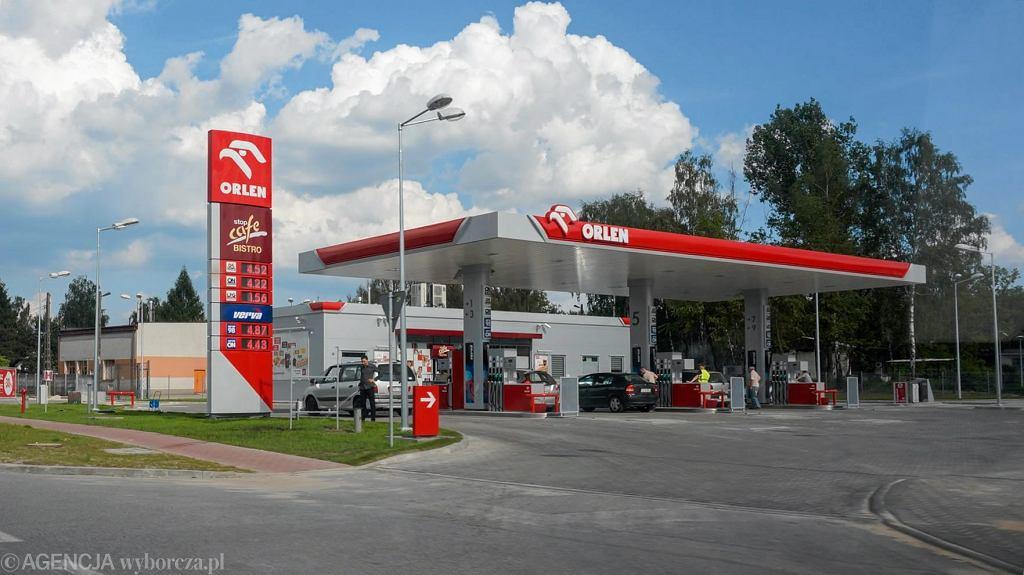 Stacja paliw Orlen w Kielcach