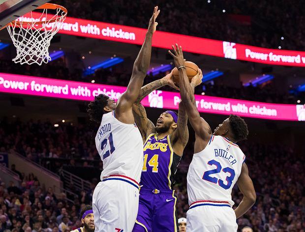 NBA 2018/2019. Philadelphia 76ers wygrywa z Los Angeles Lakers. Niesamowity mecz Portland