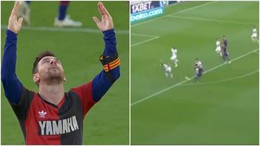 Lionel Messi zadedykował gola przeciwko Osasunie Diego Maradonie