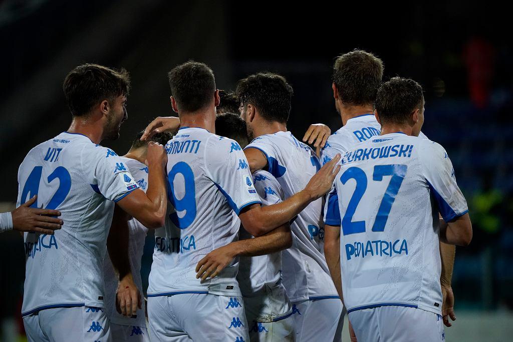 Szymon Żurkowski debiutuje w pierwszym składzie Empoli. Media zachwycone jego grą