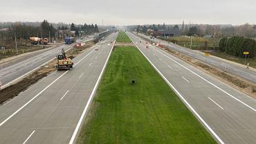 Południowy wylot S7 z Warszawy w trakcie budowy - 1.12.2020