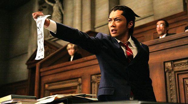 top 10, gry, Top 10 filmowo-growych strzałów, Ace Attorney