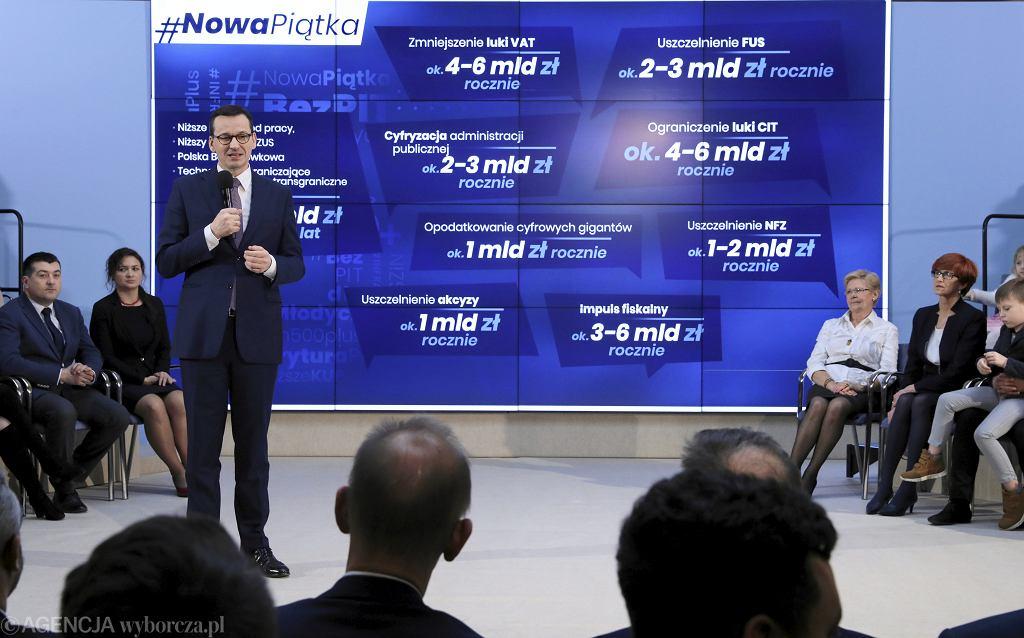 -Konferencja prasowa mapa drogowa nowej piatki