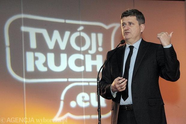 Przewodniczący Twojego Ruchu Janusz Palikot
