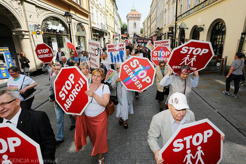 31.05.2015 , Kraków . Marsz dla życia i rodziny