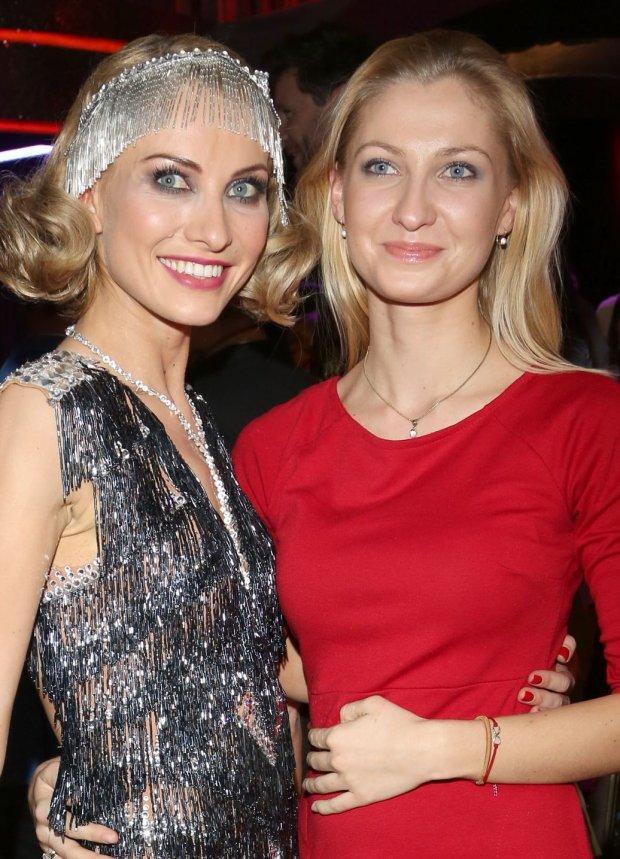 Joanna Moro i jej siostra, Kamila