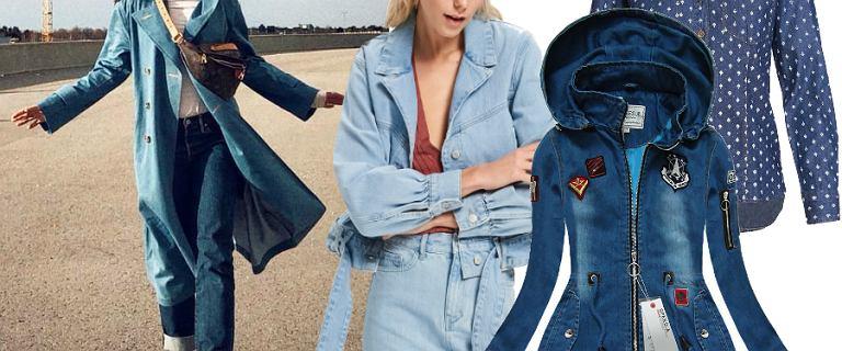 Ponadczasowy jeans na wiosnę. Wybieramy hity, a wśród nich spódnice i kurtki!