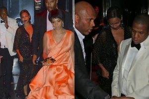 Beyonce, Jay Z i Solange Knowles