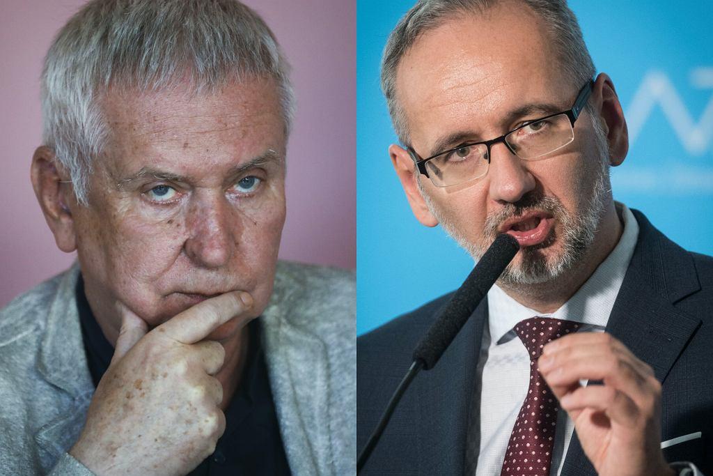 Krzysztof Materna nie reaguje na apel ministra zdrowia