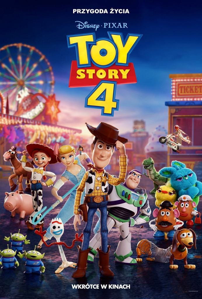 'Toy Story 4' zadebiutuje na ekranach kin 9 sierpnia