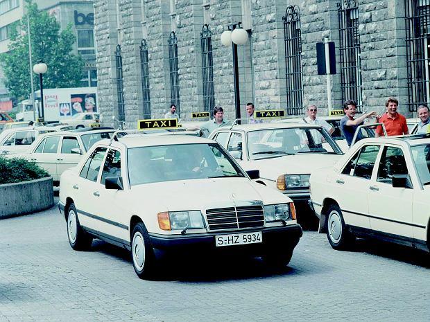 Mercedes W124 jako taksówka