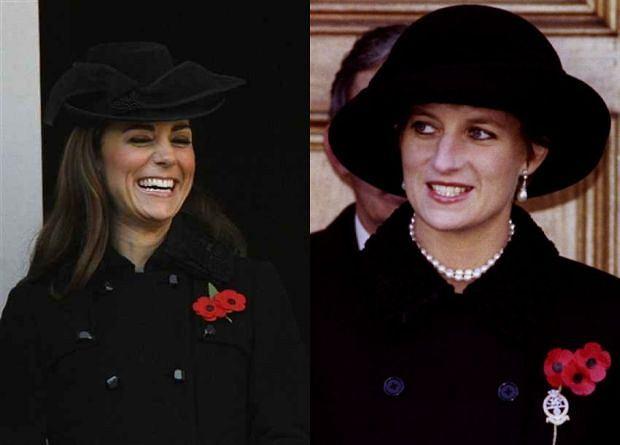Księżna Kate, księżna Diana