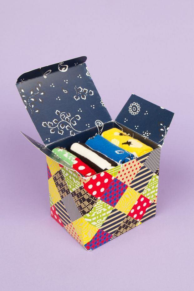 Skarpetki z kolekcji Happy Socks. Cena: ok 25 zł