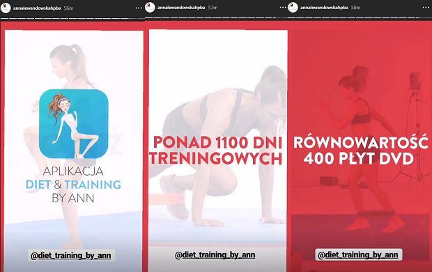 Aplikacja Anny Lewandowskiej Diet & Training by Ann