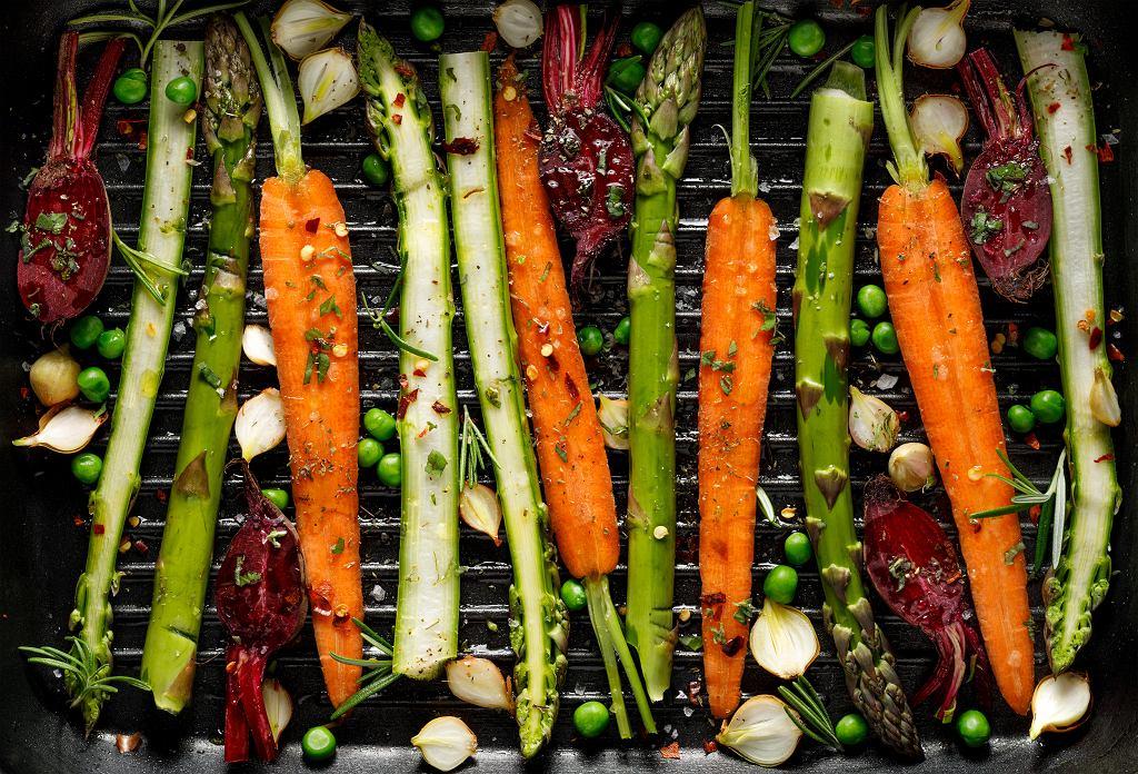 Grillowane warzywa.