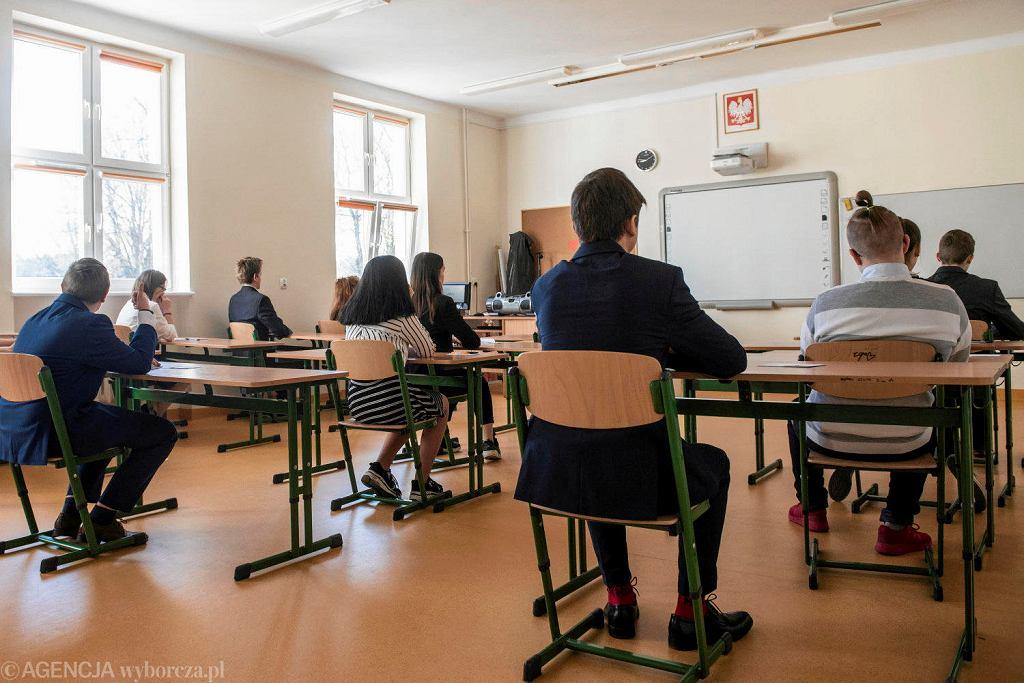 Egzamin ósmoklasisty w Szkole Podstawowej nr 7 w Olsztynie