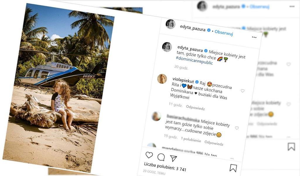 Edyta Pazura odpowiedziała na reklamę z Larą Gessler
