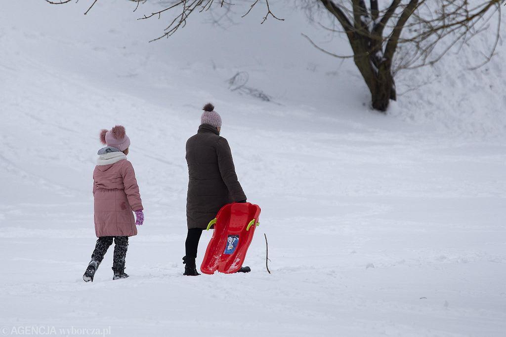 Lublin zasypany śniegiem