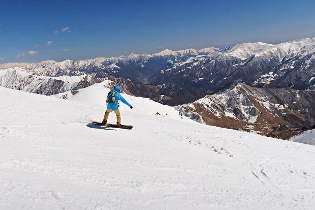 Gruzja - nieodkryte narciarskie eldorado