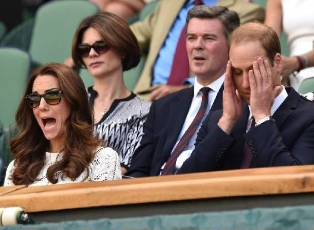 William i Kate, Wimbledon 2014