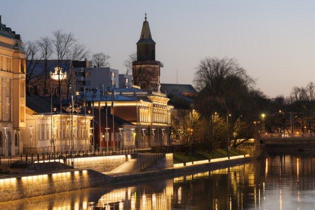 Turku - port w zachodniej Finlandii, fot. Lasse Ansaharju / shutterstock.com