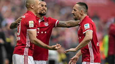 Robben, Vidal, Ribery