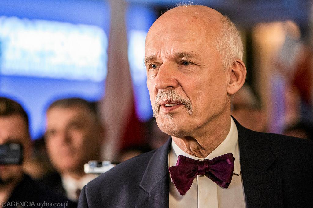 Eurowybory 2019. Korwin-Mikke na listach kandydatów do Parlamentu Europejskiego... aż cztery razy