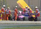 F1. Wypadek na treningu przed GP Hiszpanii! Kierowca w ostatniej minucie poważnie uszkodził bolid