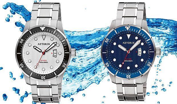 Nowa kolekcja zegarków Aztorin, kolekcje, moda męska, zegarki, Aztorin Sport Diver Limited  modele A038.G142-K1 i A038.G141-K1