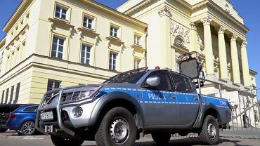 Akcja informacyjna policji