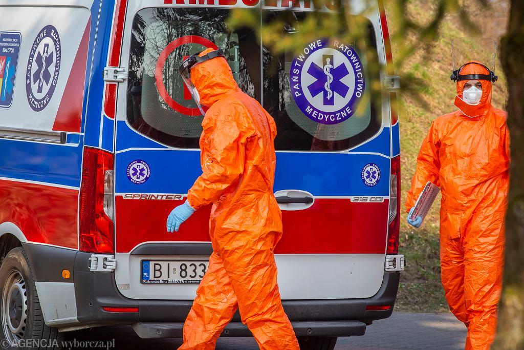 Koronawirus. Zmarły dwie osoby hospitalizowane w Łańcucie