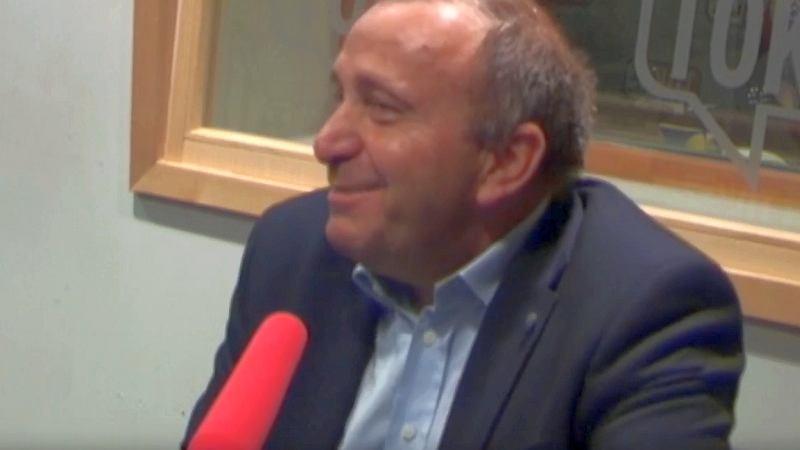 Grzegorz Schetyna w studiu radia TOK FM