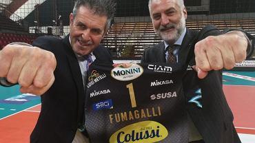 Gino Sirci (z lewej)