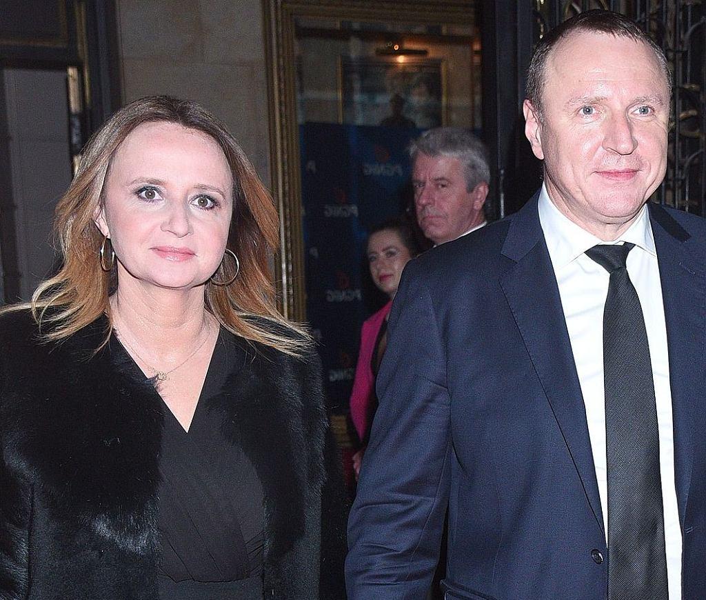 Jacek Kurski i Joana Klimek