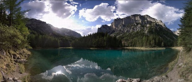 Panorama Gruner See/ Fot. CC BY-NC-SA 2.0/ Wolf-Ulf Wulfrolf/ Flickr.com