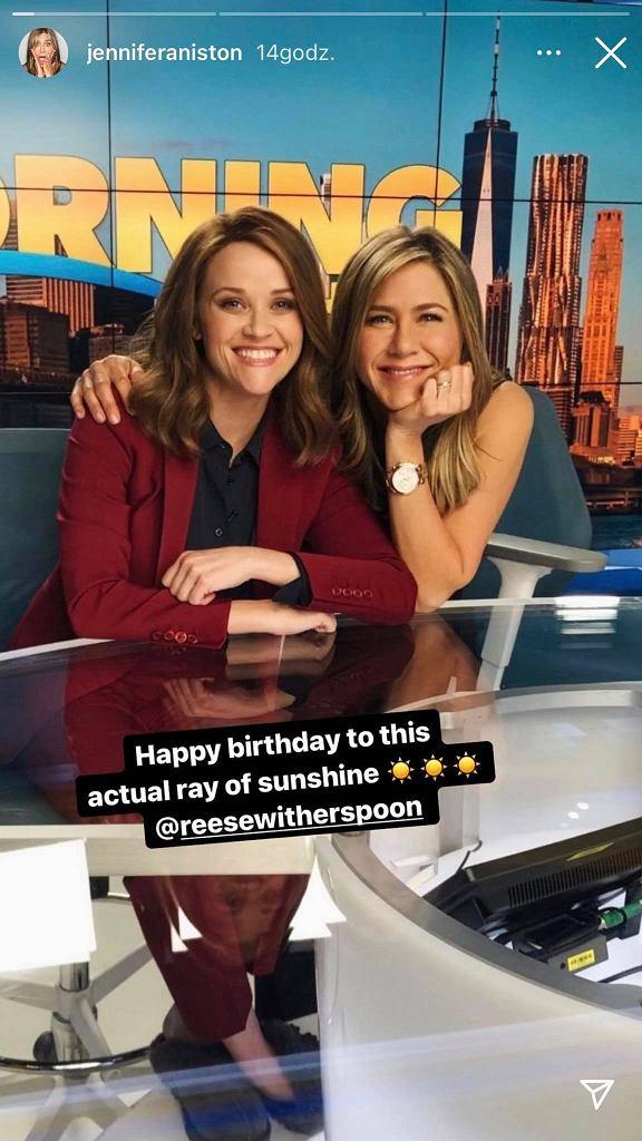 Reese Witherspoon nie jest już blondynką? Jennifer Aniston opublikowała zdjęcie, które zaskoczy fanów