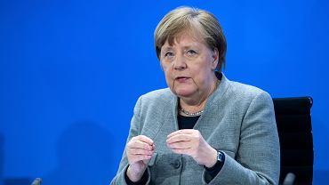 Angela Merkel, kanclerz Niemiec. Niemcy mają plan powrotu do normalności