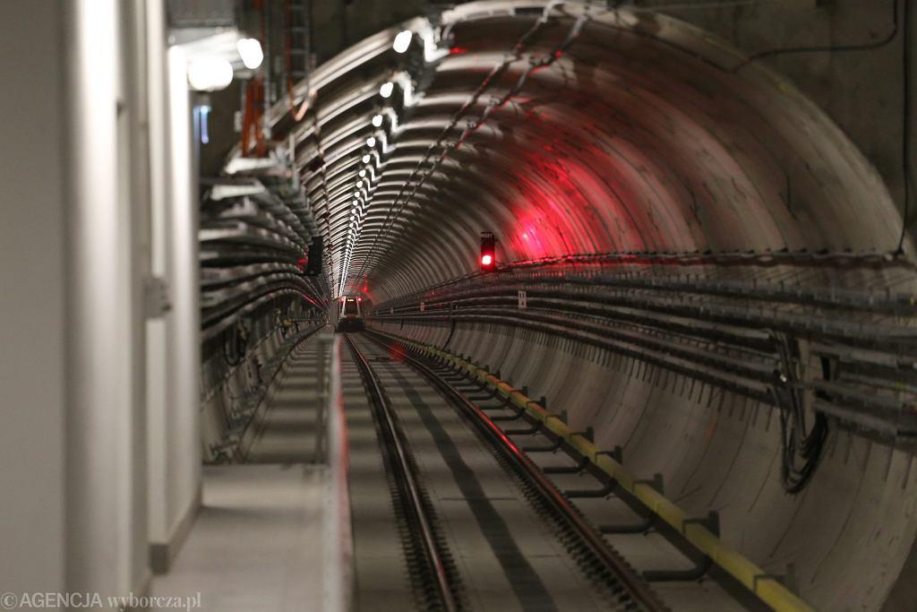 Мужчина ворвался в тоннель метро