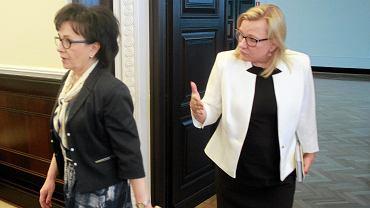 Elżbieta Witek i Beata Kempa