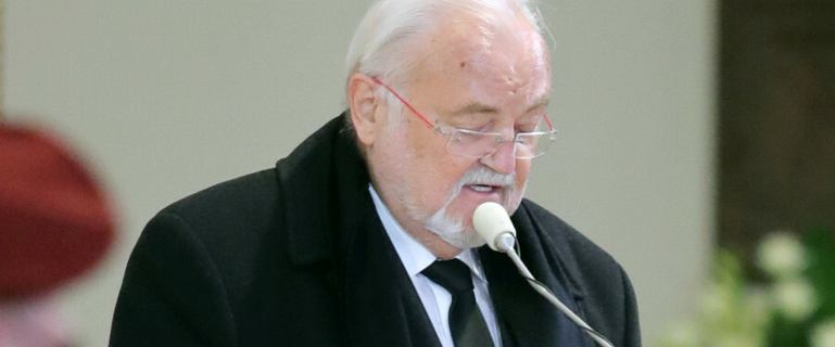 Menadżer Krzysztofa Krawczyka odczytał list od jego żony: Nie żegnaj, lecz do widzenia