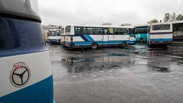 Rzeszów, dworzec autobusowy.