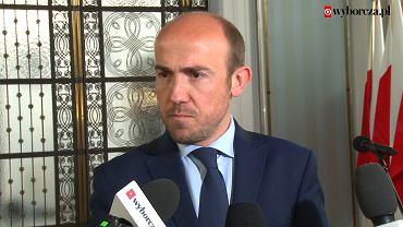 Wybory prezydenckie 2020. Borys Budka, przewodniczący PO komentuje skierowane przez Elżbietę Witek pytanie do Trybunału Konstytucyjnego w sprawie przesunięcia terminu wyborów
