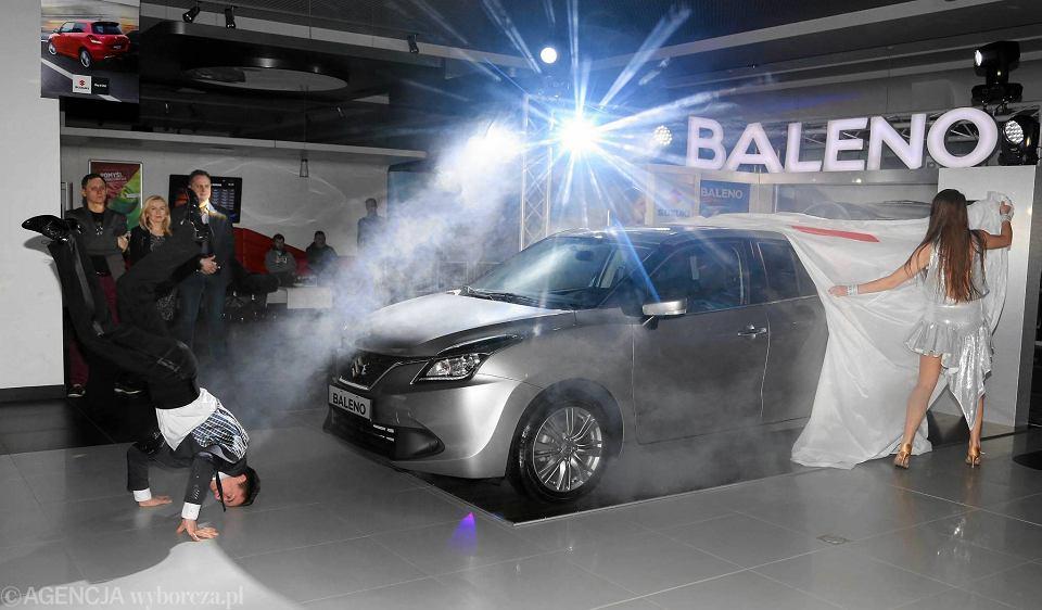 Prezentacja suzuki baleno w salonie Bud Mat Auto w Płocku