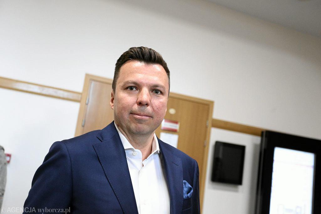 Proces Marka Falenty w sprawie afery podsłuchowej - przed warszawskim Sądem Okręgowym.