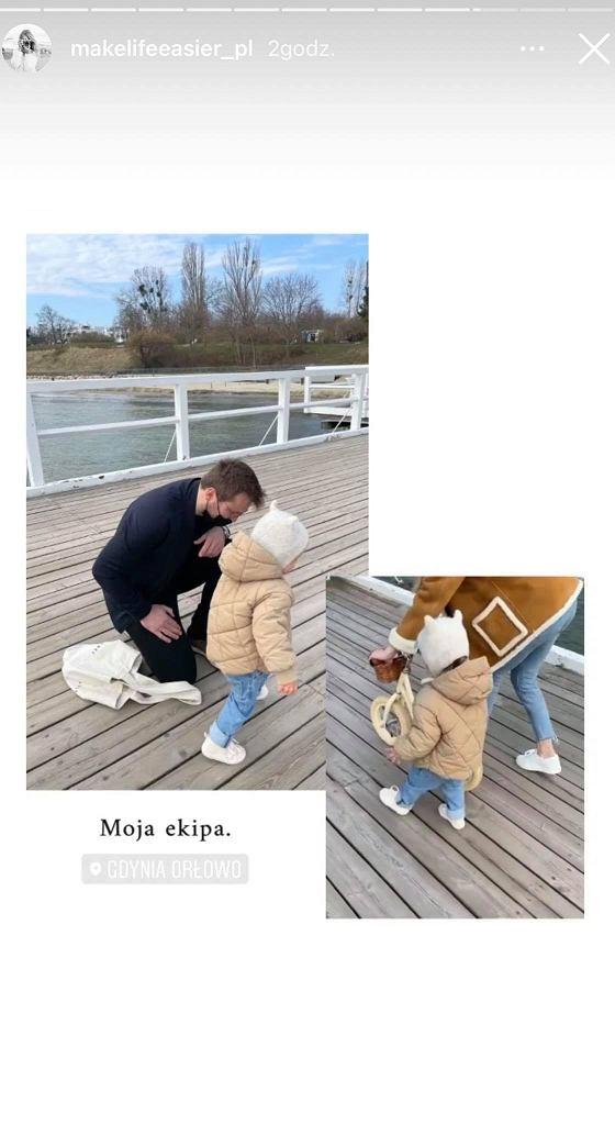 Kasia Tusk pokazała męża i córkę. Jest także Donald Tusk. 'Dziadek roku'