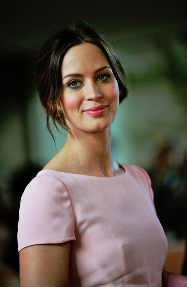 Actress Emily Blunt arrives for the premiere of 'Your Sister's Sister' at Ryerson Theatre during the Toronto International Film Festival in Toronto, Canada on September 11, 2011.  UPI/Christine Chew / eyevine