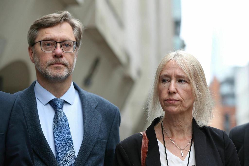 Britain Miltant's Parents