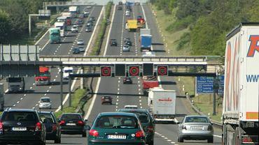 Autostrada numer 10 w Niemczech (zdjęcie ilustracyjne).