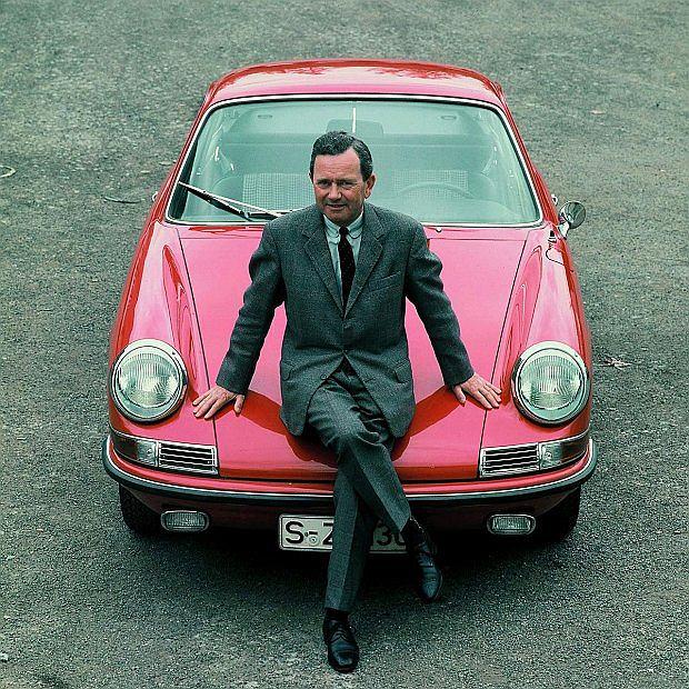 Ferry Porsche był jedynym synem Ferdinanda Porsche